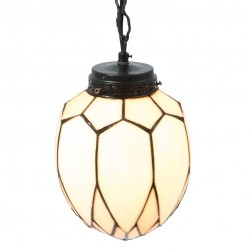 Lampa Witrażowa Sufitowa B