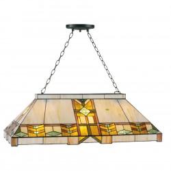 Lampa Tiffany Sufitowa Duża C