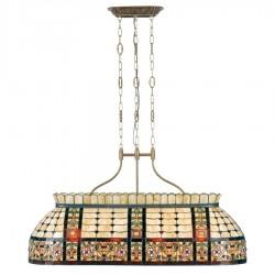 Lampa Tiffany Sufitowa Duża D