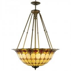 Lampa Tiffany Sufitowa Duża E