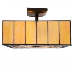 Lampa Tiffany Sufitowa Duża F
