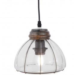 Lampa Loft Szklana A