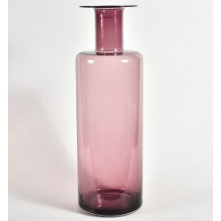 Szklany Wazon Belldeco Różowy 1