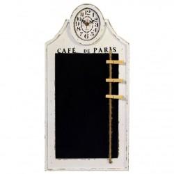 Zegar z Tablicą Do Pisania Kredą