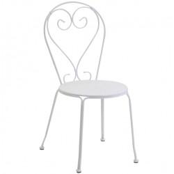 Metalowe Krzesło Industrialne Lofti Miętowe Przecierane A