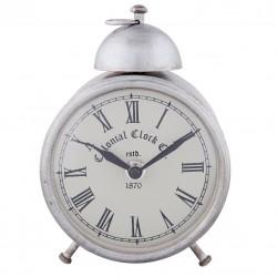 Zegarek Stołowy Srebrny B