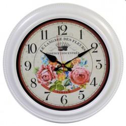 Zegar Prowansalski z Różami D