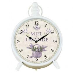 Zegarek Prowansalski Stołowy z Lawendą A