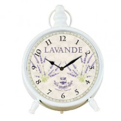 Zegarek Prowansalski Stołowy z Lawendą B