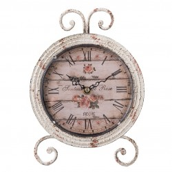 Zegarek Stołowy Prowansalski z Różami