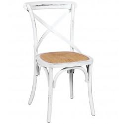Czarne Krzesło Postarzane Neroni