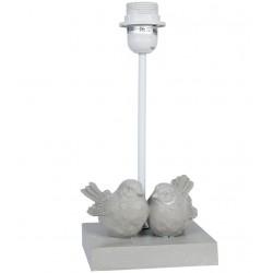 Lampa Prowansalska Stołowa z Ptaszkami Clayre & Eef