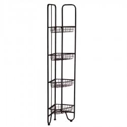 Metalowy Regał Loft Narożny A
