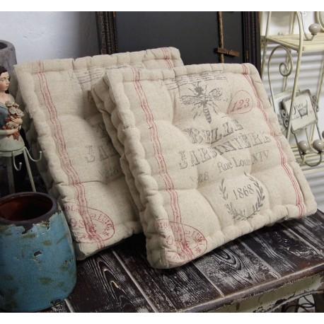 Gruba poduszka na krzesło Paris