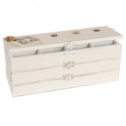 Pudełko Na Biżuterię Prowansalskie