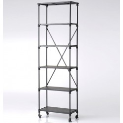 Metalowy Regał Loft C