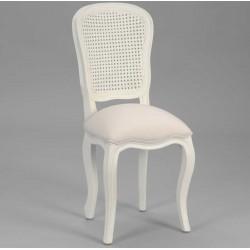 Krzesło Prowansalskie Crema Tapicerowane