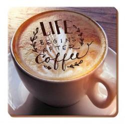 Podkładki Korkowe Coffee 4szt.