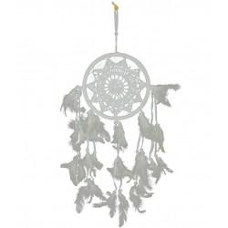 Świecznik Prowansalski Biały A