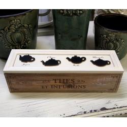 Pudełko Na Herbatę Thes Infusions