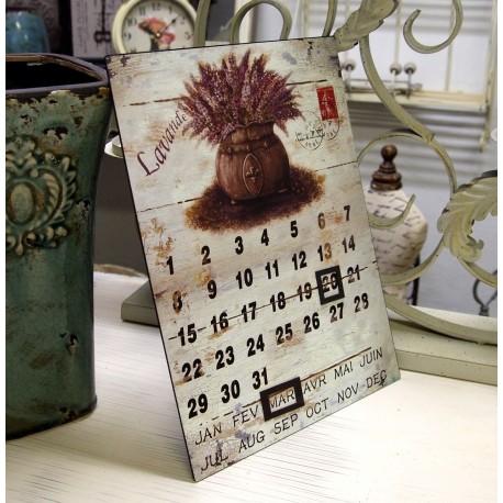 Kalendarz z Lawendą