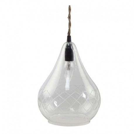 Lampa z Metalowej Siatki Chic Antique