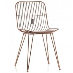 Krzesło Metalowe Milazo Aluro Gold