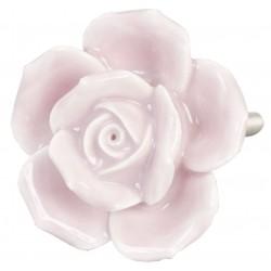 Gałka Meblowa Kwiat Ciemnoróżowy