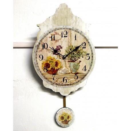 Prowansalski Zegar z Wahadłem Olive