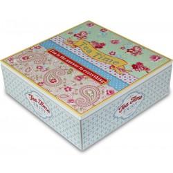 Pudełko Na Herbatę Prowansalskie z Aniołkami