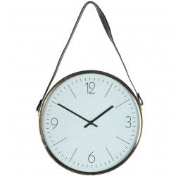 Zegar Skandynawski Złoty