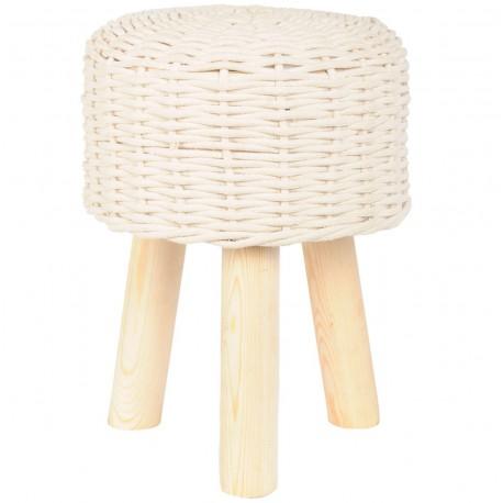 Biały stołek skandynawskim to zarówno wygodne siedzisko jak i dekoracyjny mebel! Specjalnie dla Ciebie!
