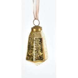 Bombka Belldeco Bosco Złoty Kryształ 6 6szt.