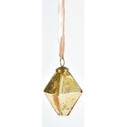 Bombka Belldeco Bosco Złoty Kryształ 3 6szt.