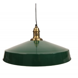 Lampa w Stylu Industrialnym Zielona