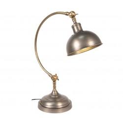 Lampka Biurkowa Srebrna A