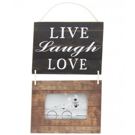 Ramka na zdjęcie z tabliczką z napisami to ciekawy pomysł dla ukochanego przyjaciela lub przyjaciółki.