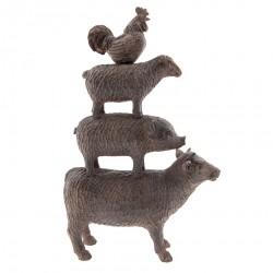 Zwierzęta Ozdobne Farma A Clayre & Eef