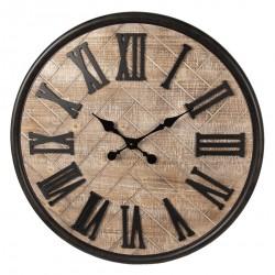 Duży Zegar Ścienny Bielony A