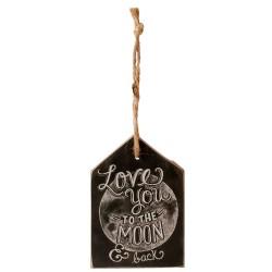 Zawieszka Ozdobna Love You