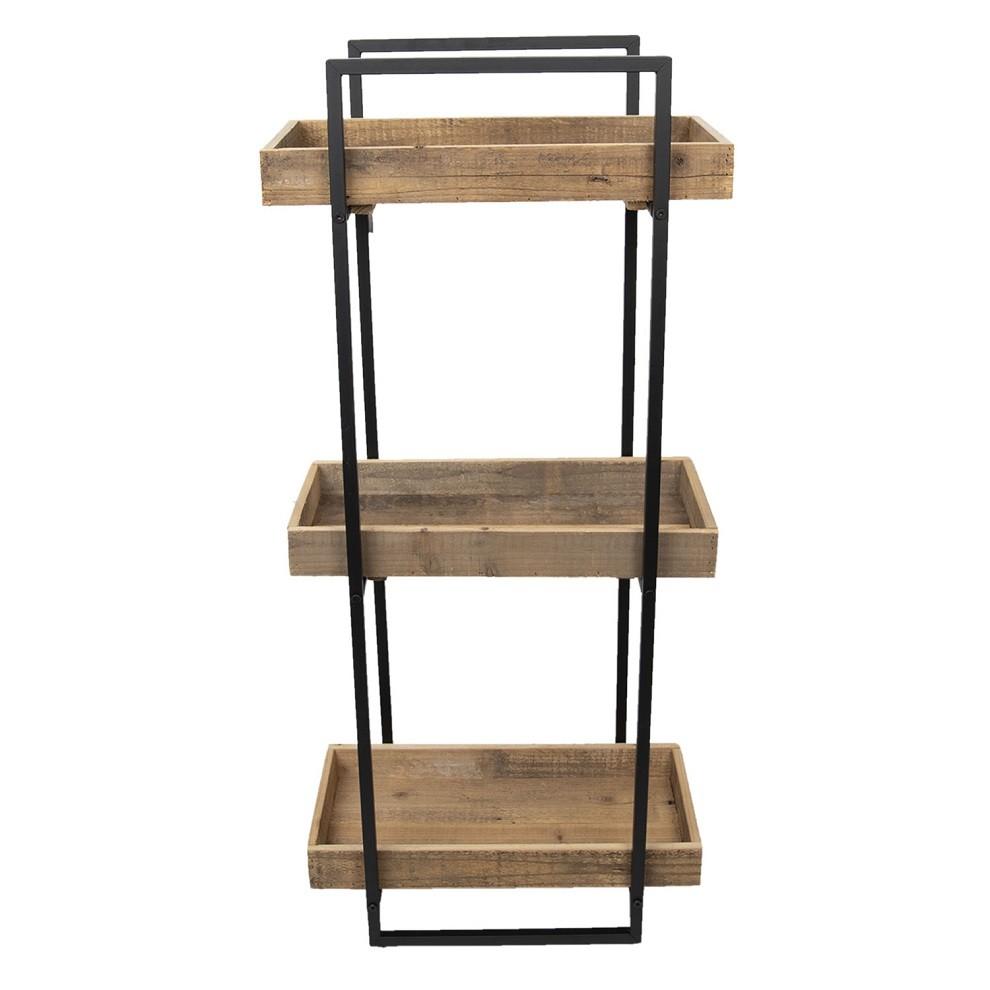Półki Loft Z Drewna Z Odzysku