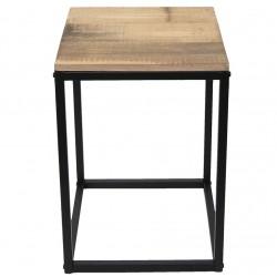 Stolik Kawowy/Nocny Loft z Drewna z Odzysku B