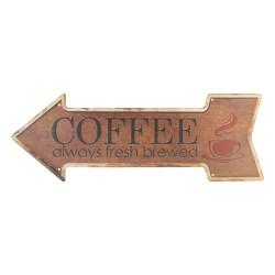 Metalowa Tabliczka Retro Coffee B