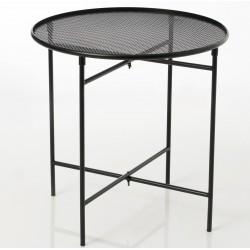 Metalowy Stolik Loft Czarny
