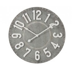 Duży Zegar Loft Metalowy B