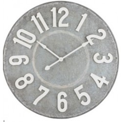 Duży Zegar Loft Metalowy A