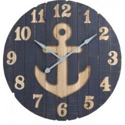 Zegar Marynistyczny Duży z Kotwicą