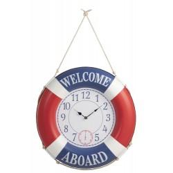 Zegar Marynistyczny Koło Ratunkowe