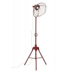 Lampa Industrialna Metalowa Czerwona
