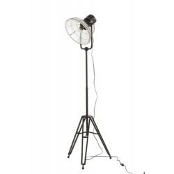 Lampa Industrialna Metalowa Czarna A